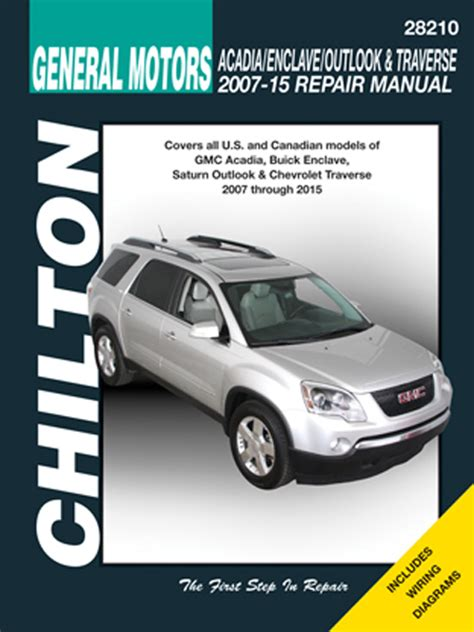 automotive service manuals 2010 saturn outlook spare parts catalogs all buick enclave parts price compare