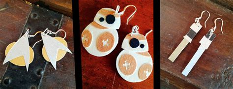 paper craft earrings papercraft earrings by greenchylde on deviantart