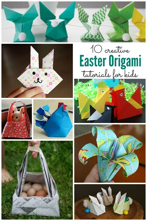 easter origami easter origami for housing a forest