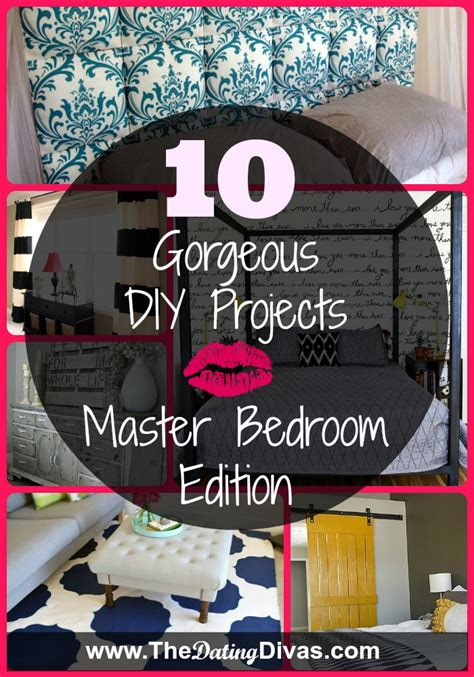 diy projects for bedrooms 10 gorgeous diy projects master bedroom edition
