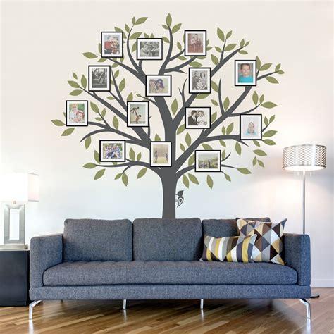 photo tree wall sticker large family tree wall decal