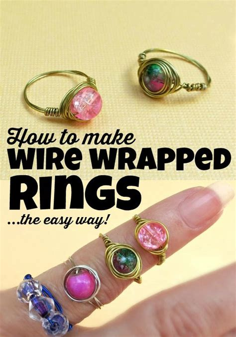 how to make jewelry at home to sell 25 best ideas about wire wrapped rings on