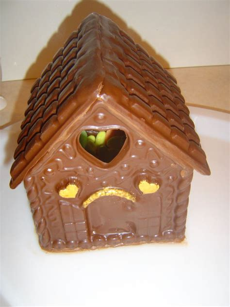 maison chalet de no 235 l en chocolat rempli de bonbons 3d photo de cuisine cr 233 ative version