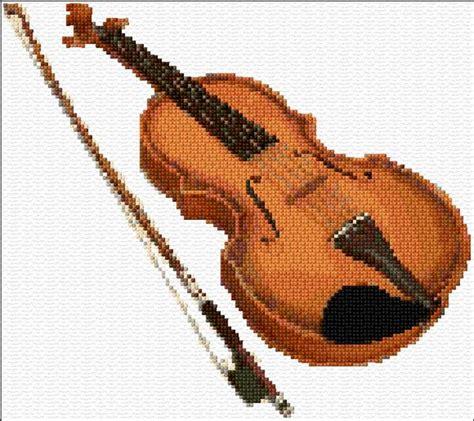 knitting violin violin s cross stitch patterns