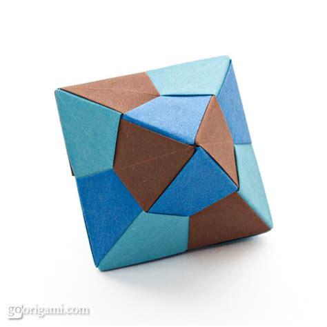 modular origami octahedron origami icosahedron and octahedron by tomoko fuse go origami