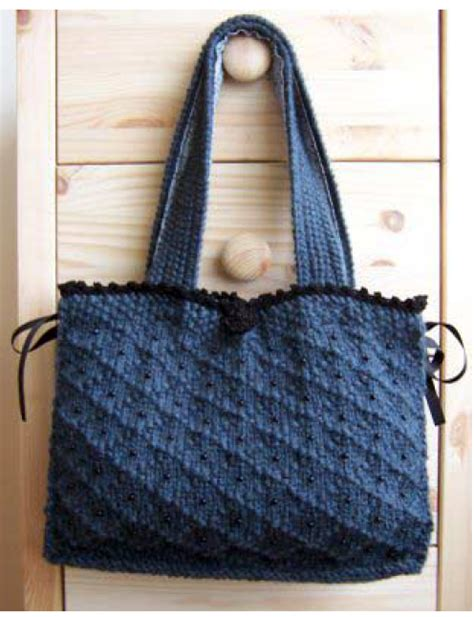 knit bag pattern knitting bags patterns free patterns