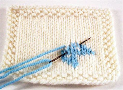 duplicate stitch in knitting 177 best images about how to knit stitch patterns