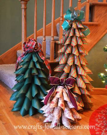 paper cone tree craft 19 clever ways to use leftover wrapping paper