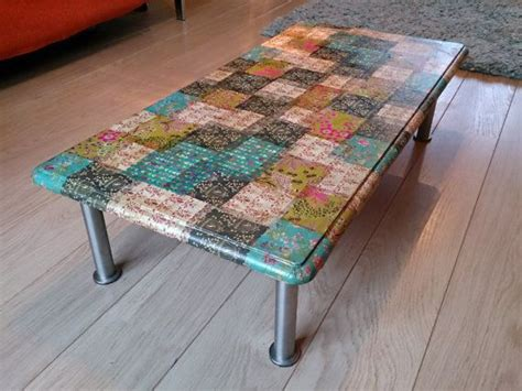 decoupage tabletop ideas decoupage coffee table homely ideas sewing
