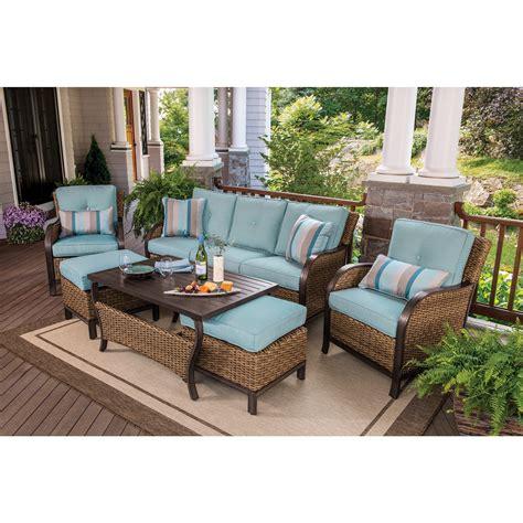 wholesale patio dining sets berkley nantucket 6 wicker patio set bjs