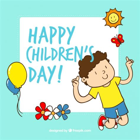 greeting card for children 31 beautiful happy children s day greeting cards and images