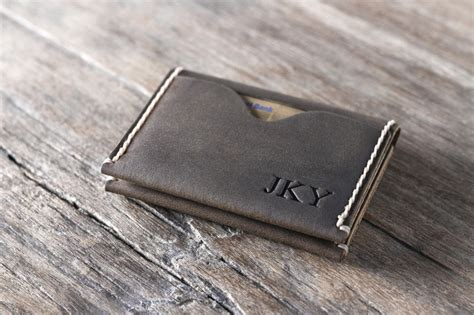 how to make a leather card holder high grade minimalistic leather credit card holder wallet