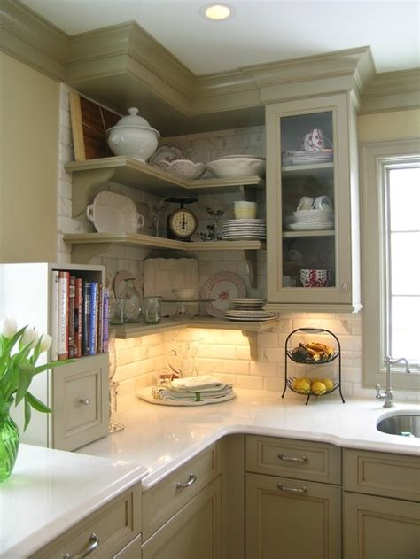 kitchen cabinet shelving ideas five inc countertops 5 ways to make practical