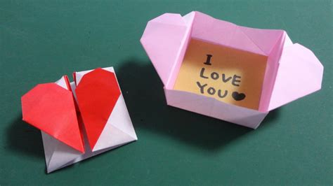 origami ls バレンタイン折り紙 ハートの窓 s origami window doovi