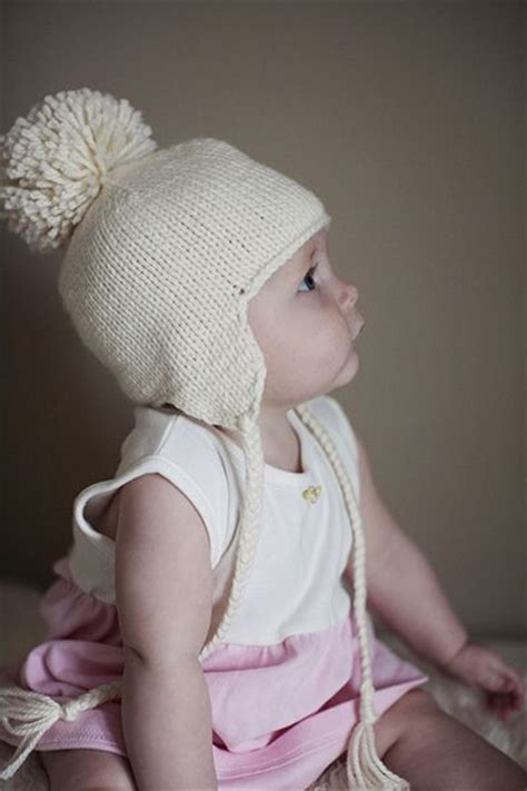knitting patterns for baby hats with ears baby hat with ear flaps free pattern knittin hats
