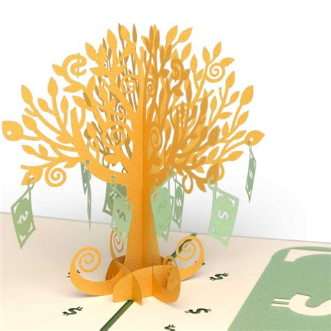 how to make a pop up tree card money tree pop up birthday card lovepop