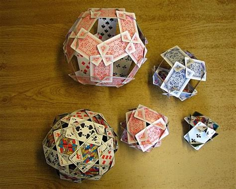 make a deck of cards how to make the platonic solids out of cards