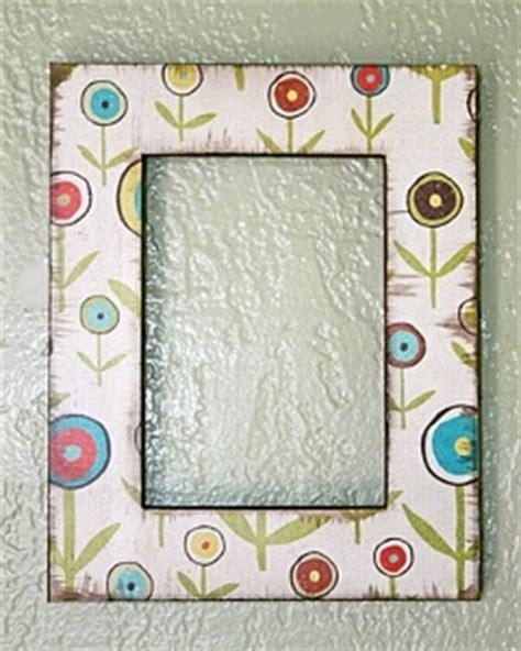 decoupage photo frame ideas easy decoupage frames favecrafts