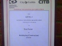 wall garden city and guilds ben foster building services 100 feedback bricklayer