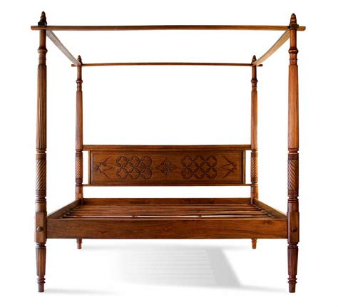lotus bed frame lotus canopy bed tansu asian furniture boutique tansu net