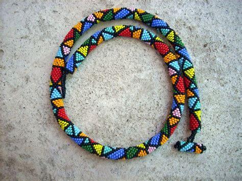 how to bead crochet beaded crochet rope harlequin bead crochet patterns