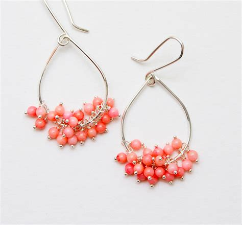 all free jewelry how to make cluster bead earrings 20 ways