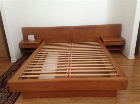 modern king size bed frame king size mid century modern bed frame design and
