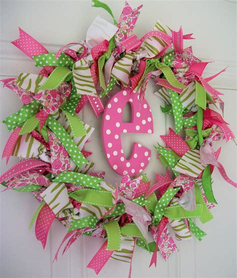 ribbon crafts for ribbon wreath craft ideas