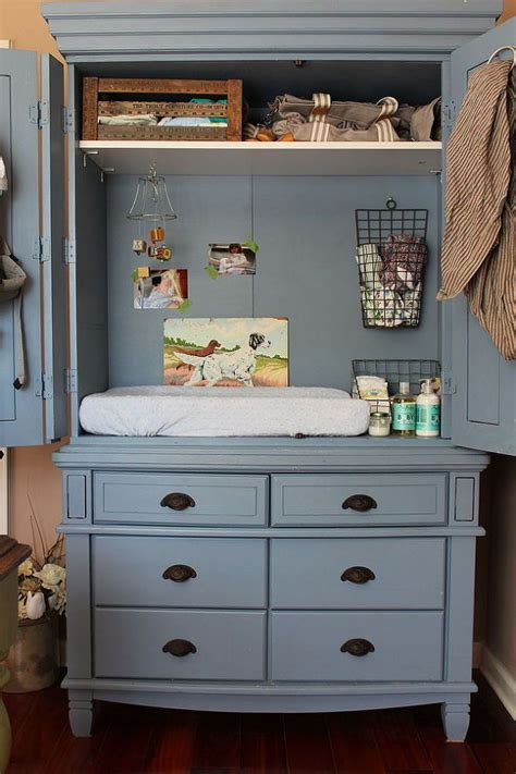 changing table storage ideas 15 creative ways to repurpose an antique armoire