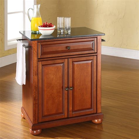 portable islands for kitchens crosley alexandria solid black granite top portable kitchen island kitchen islands and carts