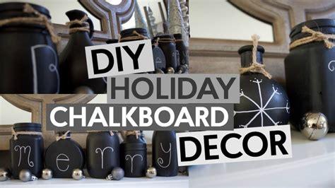 diy chalkboard room decor diy chalkboard jars a craft in your day