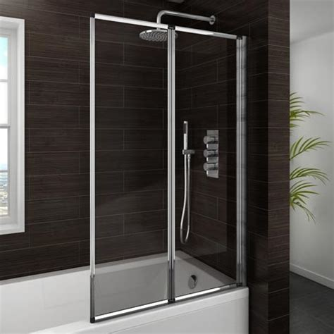 bath folding shower screens haro folding bath screen 2 fold concertina from