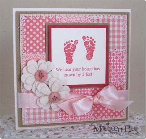 new baby cards to make baby card stin tags