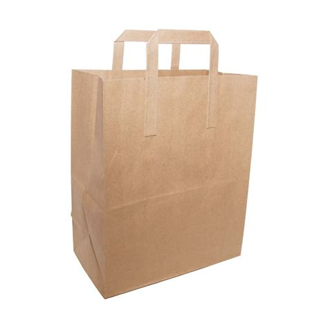 with paper bags brown paper bag with handles large packaging environmental