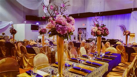 purple gold decorations purple and gold wedding reception decorations wedding