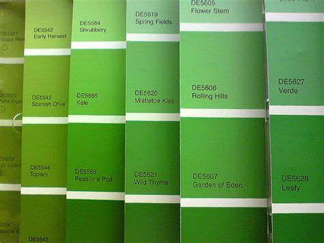green swatches paint swatches flickr photo