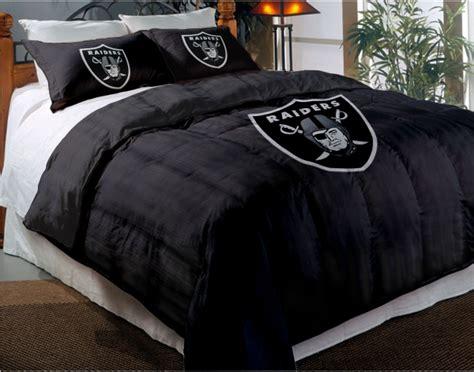 raiders comforter set oakland raiders nfl chenille embroidered comforter