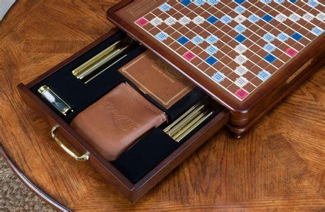 luxury scrabble board scrabble luxury edition premium for sale