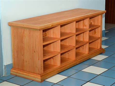 shoe cubby woodworking plans wooden shoe cubby bench home design ideas