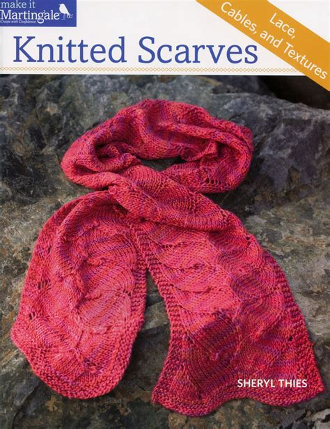 knitting books knitted scarves lace cables and textures knitting book