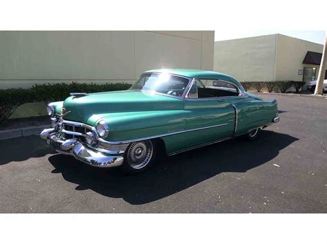 Classic Cadillac by 1952 Cadillac Series 62 For Sale Classiccars Cc 998259