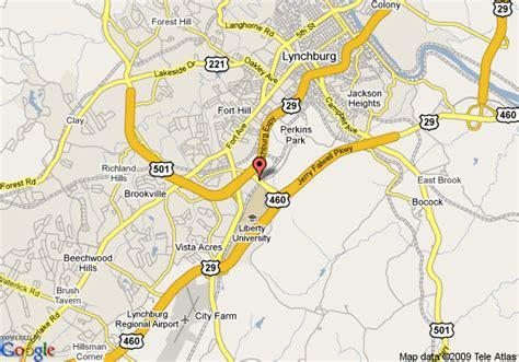 Hilton Garden Inn Pittsburgh Airport by Map Of Best Western Of Lynchburg Lynchburg