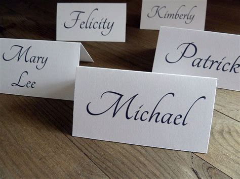 how to make place cards for wedding 3 diy wedding place card ideas groom