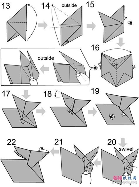 how to make a bunny origami best 20 rabbit origami ideas on origami