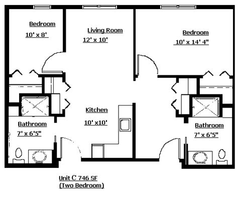 2 bedroom apartment layout design 2 bedroom apartment layout grace lodge assisited living