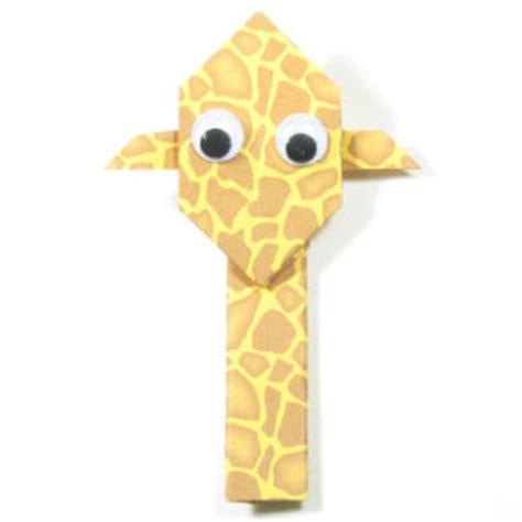 how to make origami giraffe how to make an easy origami giraffe page 1