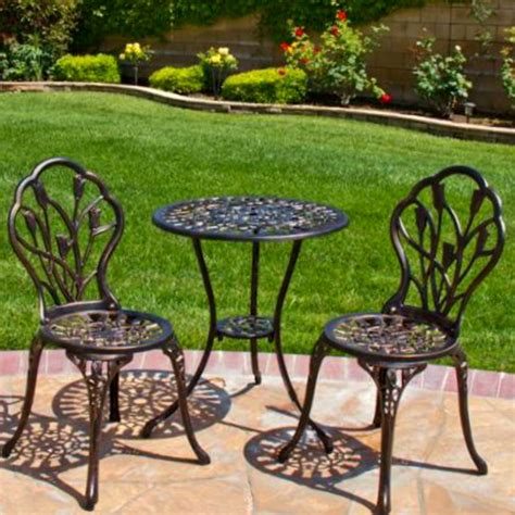patio furniture 3 set patio set bistro outdoor furniture table 3 chairs