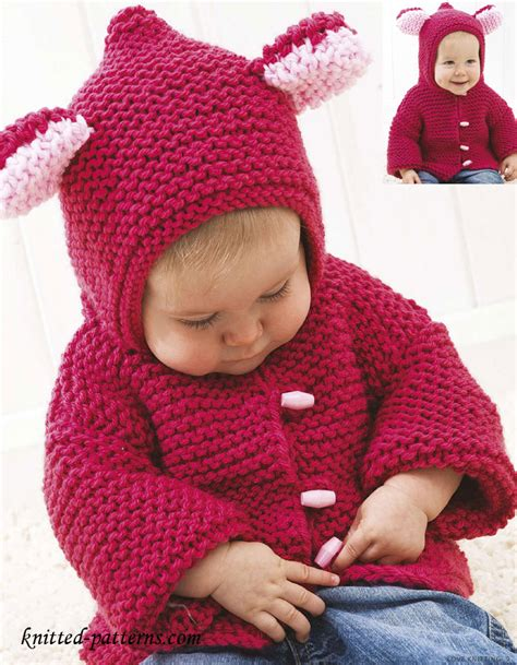 baby knitted jackets baby jacket knitting pattern free