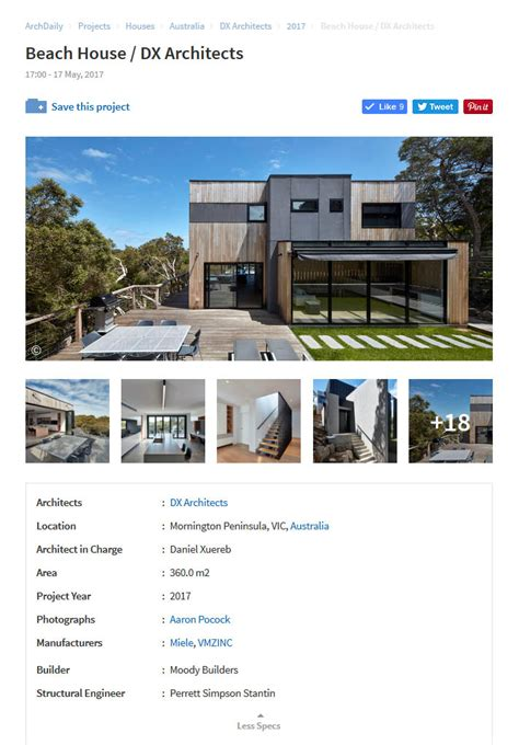 house blairgowrie house blairgowrie house featured on archdaily