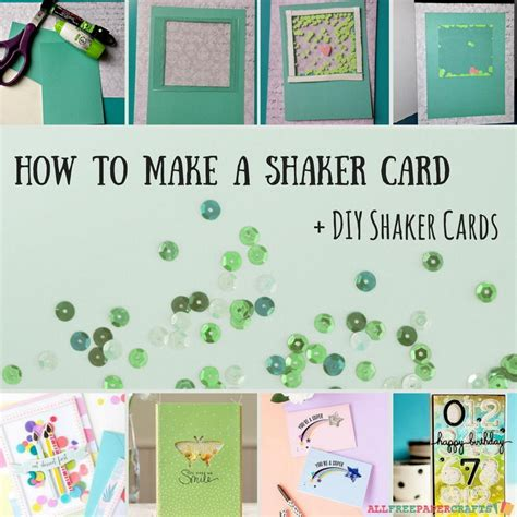 how to make a shaker card how to make a shaker card 5 diy shaker cards